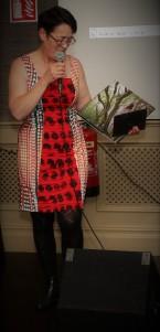 3 Julie Rose introduces book & flim