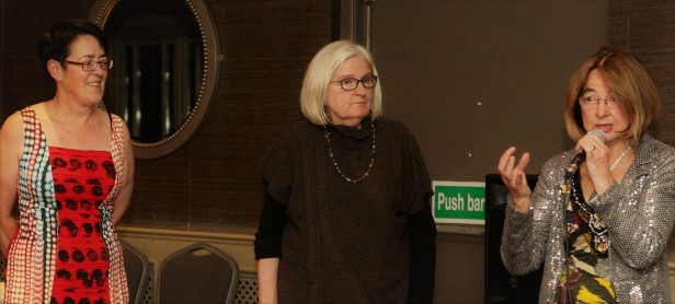 9 Author Mary Rose Callaghan is Introduced to Bray Arts