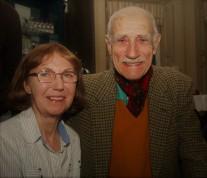 Frances Norton with Padruig MacFarlane