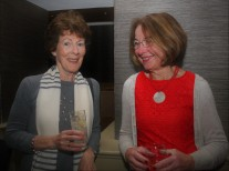 Lucy Lynch with Carmen Cullen