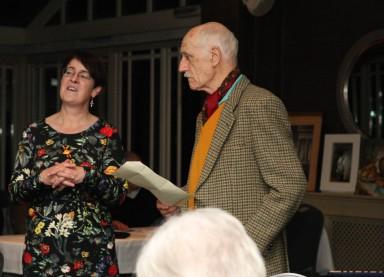 Julie-Rose introduces arist Padruig MacFarline