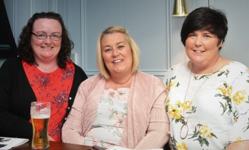 BAJune182 Local writers Gwen Moran, Michelle Dodd & Layla Morony